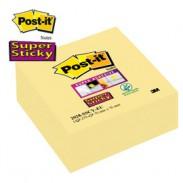 CUBO 270foglietti Post-it®Super Sticky Giallo Canary™ 76x76mm 2028-SSCY-EU - conf. 1