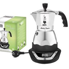 CAFFETTIERA ELETTRICA Moka Timer 3 Tazze BIALETTI - conf. 1