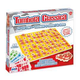 GIOCO TOMBOLA CLASSICA IN LEGNO - conf. 1
