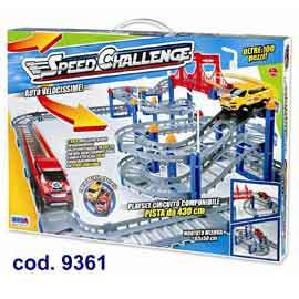 PISTA SPEED CHALLENGE CON AUTO RONCHI SUPERTOYS - conf. 1