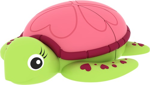 MEMORIA USB2.0 M335 8GB ANIMALITOS LADY TURTLE - conf. 1