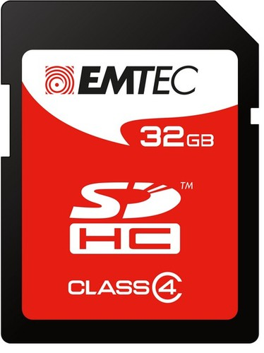 SECUR DIGITAL CARD SD 32GB CLASS4 60X - conf. 1