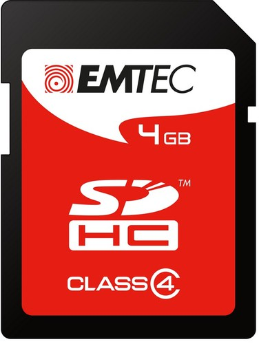 SECUR DIGITAL CARD SD 4GB CLASS4 60X - conf. 1