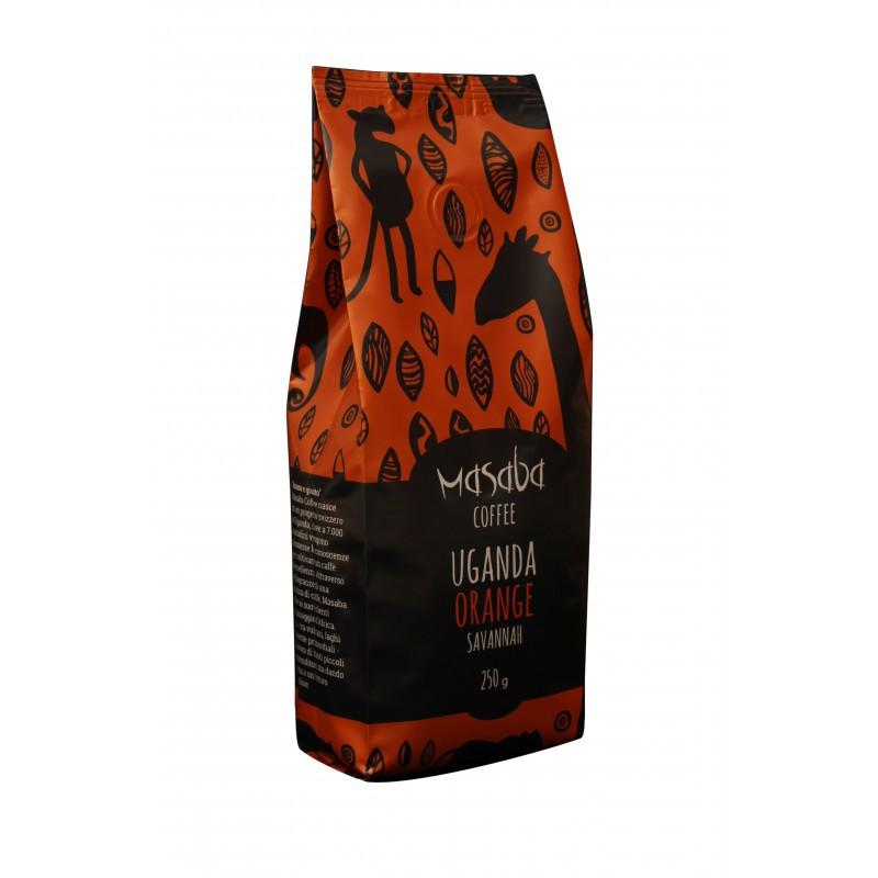 250g caffè macinato medio ORANGE Masaba - conf. 10