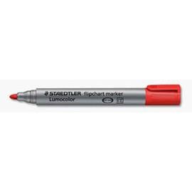 Marcatore Lumocolor Flipchart 356 punta tonda rosso Staedtler - conf. 10