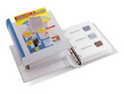 Raccoglitore STELVIO TI 40 A4 4D 22x30cm bianco personalizzabile SEI ROTA - conf. 1