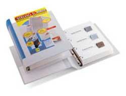 Raccoglitore STELVIO TI 50 A4 4D 22x30cm bianco personalizzabile SEI ROTA - conf. 1