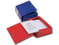 Scatola archivio Scatto 80 25x35cm rosso Sei Rota - conf. 1