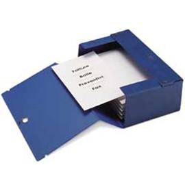 Scatola archivio Big 200 250x350mm blu c/maniglia Sei Rota - conf. 1