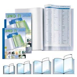 PORTALISTINI UNO TI 15X21-12 15X21CM (A5) BLU - conf. 1