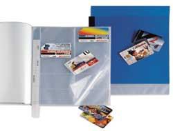 PORTASCHEDA TELEFONICA UNO CARD 21X29.7CM (A4) - conf. 1