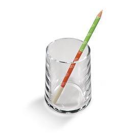 Portapenne a bicchiere Acrilico trasparente 1686 LEBEZ - conf. 1