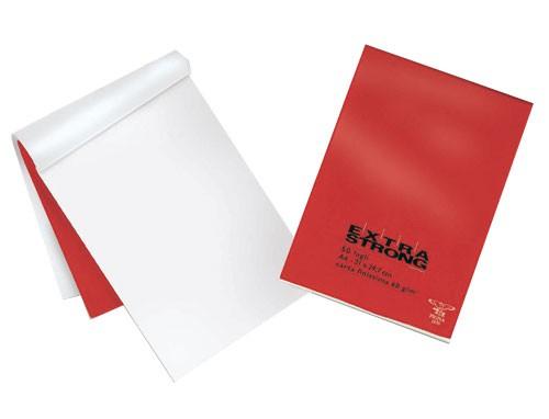 BLOCCO EXTRA STRONG 210X297MM bianco 50FG 60GR PIGNA - conf. 10