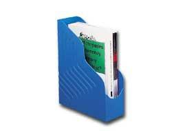 Portariviste MAGAZINE RACK JUMBO 25x32cm dorso 10cm blu REXEL - conf. 1