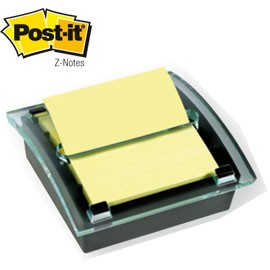 DISPENSER HI-TECH C-2014+1 RICARICA 100fg Post-it®Z-Notes 76x76mm Giallo Canary - conf. 1
