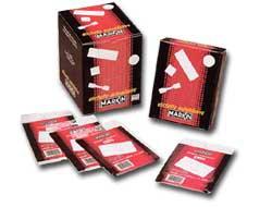 Etichetta adesiva bianca 10fg x 2 etichette 115x70mm MITT-DEST Markin - conf. 25