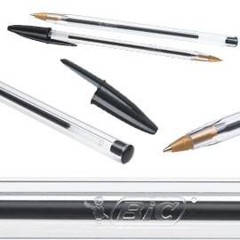 Scatola 50 penna sfera CRISTAL® medio 1,0mm nero BIC® - conf. 1