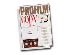 LUCIDI C50 A4 100FG PROFILMCOPY FOTOCOPIE B/N S/RETROFOGLIO CANSON - conf. 1
