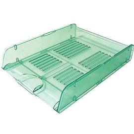 Vaschetta portacorrispondenza Trasparent Colors verde ARDA - conf. 10
