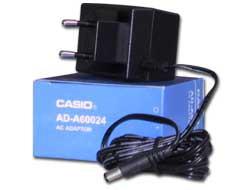 ALIMENTATORE CASIO AD-A60024 PER CALCOLATRICI SERIE HR - conf. 1