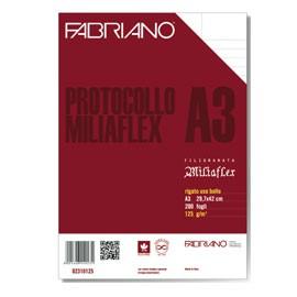 PROTOCOLLO A4 USO BOLLO 200FG 125GR FABRIANO - conf. 1