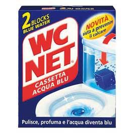 WC NET CASSETTA BLU WATER X 2 - conf. 1