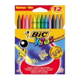ASTUCCIO 12 PASTELLI KIDS PLASTIDECOR BIC - conf. 1