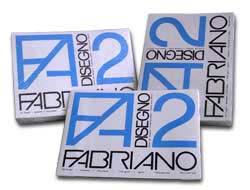 BLOCCO FABRIANO2 (240X330MM) 20FG 110GR LISCIO 4 ANGOLI - conf. 1
