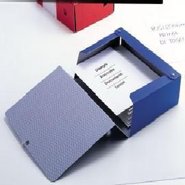 Scatola archivio Spazio 60 25x35cm dorso 6cm blu Sei Rota - conf. 1