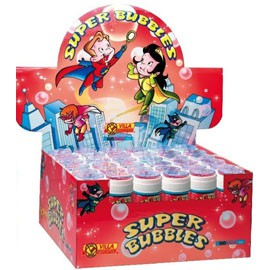 BOLLE SAPONE SUPER BUBBLES 60 ml. - conf. 36