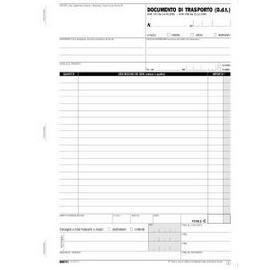 BLOCCO DDT 50/50 FOGLI AUTORIC. 23X15 E5214C - conf. 1