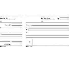 BLOCCO RICEVUTE GENERICHE MADRE/FIGLIA 100FG 11X21 E5566 - conf. 1