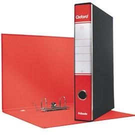 Registratore OXFORD G84 rosso dorso 5cm f.to protocollo ESSELTE - conf. 8