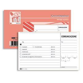 BLOCCO COMUNICAZIONI TELEFONICHE 100FG USO MANO 9,9X17 E5693 - conf. 1