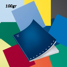 MAXIQUADERNO A4 36fg+2 100gr 10mm MONOCROMO 100 - conf. 10