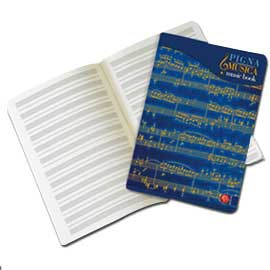 MAXIQUADERNO MUSICA 21X29,7CM 32FG 100GR 12 PENTAGRAMMI - conf. 10