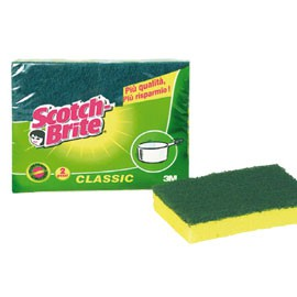 PACK 2 SPUGNE STROFINETTO SCOTCH BRITE A12 - conf. 1