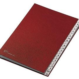MONITORE A/Z FRASCHINI FORMATO 24X34CM ROSSO ART. 640-E - conf. 1