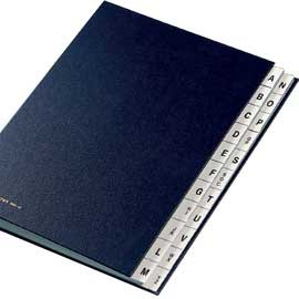 MONITORE A/Z FRASCHINI FORMATO 24X34CM BLU ART. 640-D - conf. 1