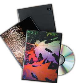 SCATOLA 10 CUSTODIA SLIM DOPPIA DVD NERA 9834001 FELLOWES - conf. 1