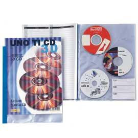 Porta CD DVD personalizzabile UnoTI CD 30 220x300mm Sei Rota - conf. 1