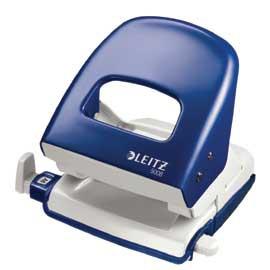 PERFORATORE 2 FORI NEXXT SERIES 5008 WOW BLU METAL MAX 30FG LEITZ - conf. 1