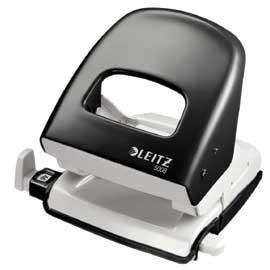 PERFORATORE 2 FORI NEXXT SERIES 5008 NERO MAX 30FG LEITZ - conf. 1