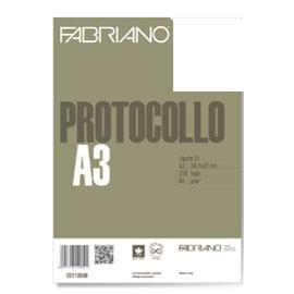 PROTOCOLLO A4 BIANCO 200FG 60GR FABRIANO - conf. 1