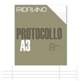 PROTOCOLLO A4 USO BOLLO 200FG 60GR FABRIANO - conf. 1