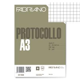 PROTOCOLLO A4 4MM 200FG 60GR FABRIANO - conf. 1