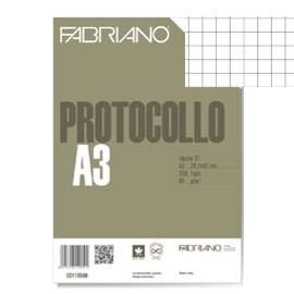 PROTOCOLLO A4 5MM 200FG 60GR FABRIANO - conf. 1