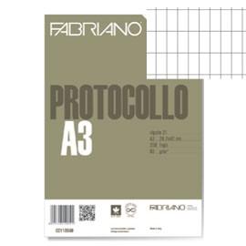 PROTOCOLLO A4 COMMERCIALE 200FG 60GR FABRIANO - conf. 1