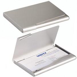 PORTA BIGLIETTI VISITA IN ALLUMINIO BUSINESS CARD BOX - conf. 1