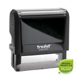 Timbro Original Printy 4.0 4913 58x22mm 6righe autoinch. personalizzabile TRODAT - conf. 1